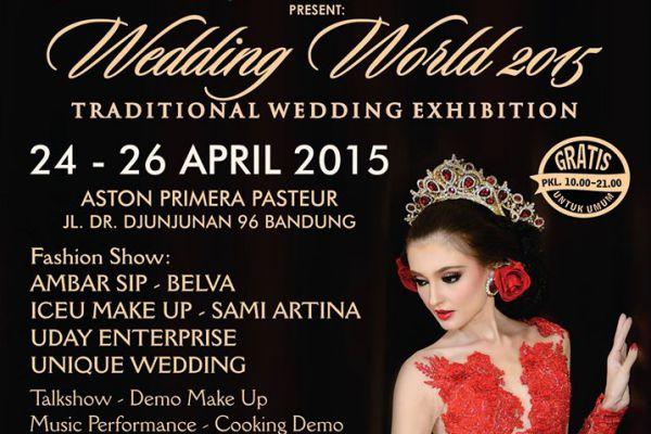 Aston Primera Pasteur Gelar Wedding World Exhibition 2015