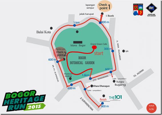 Panorama Selenggarakan Bogor Heritage Run 2015