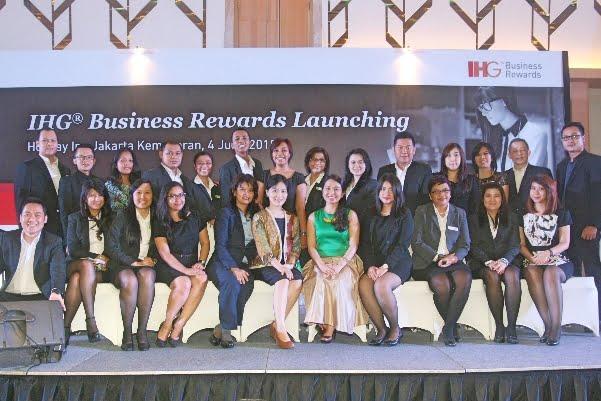 IHG Secara Resmi Luncurkan IHG Business Rewards Di Indonesia