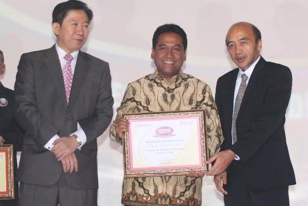"Sahid Hotels terpilih sebagai Corporate Image Award 2015 kategori ""National Hotel Chain"""
