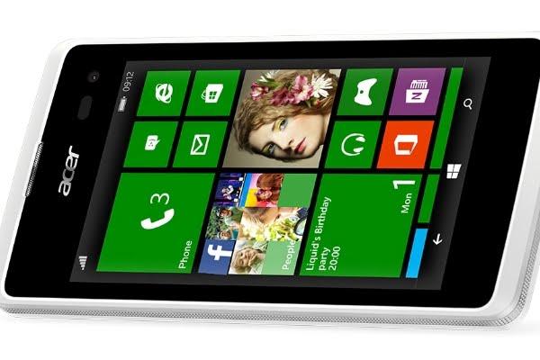 Acer Luncurkan Windows Phone Pertamanya Di Indonesia
