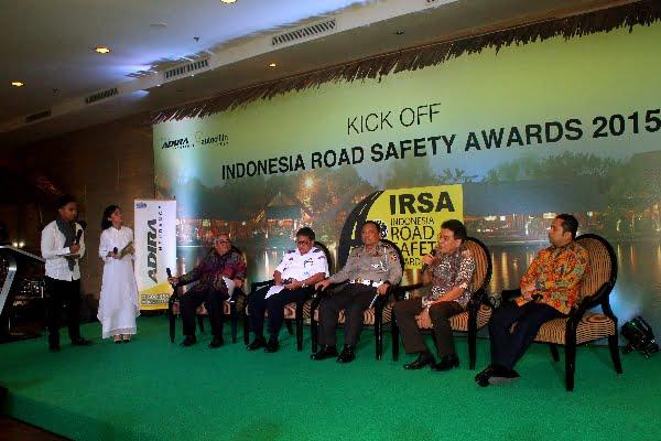 Penilaian Semifinalis Indonesia Road Safety Award 2015 Dimulai