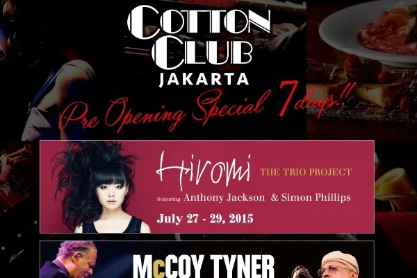 Cotton Club, Klub Hiburan asal New York Kini Hadir di Jakarta