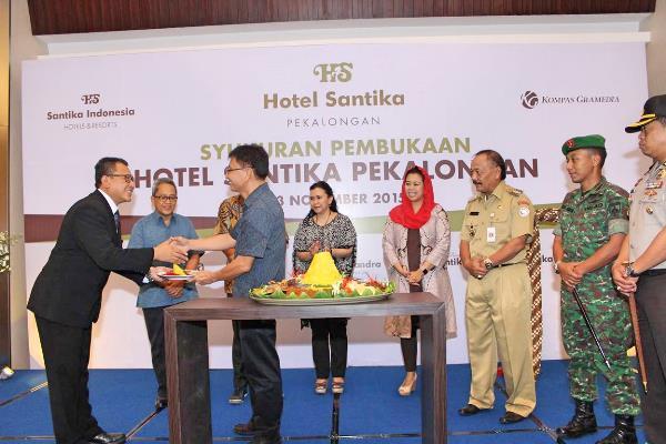 Hotel Santika kini Hadir di Kota Batik