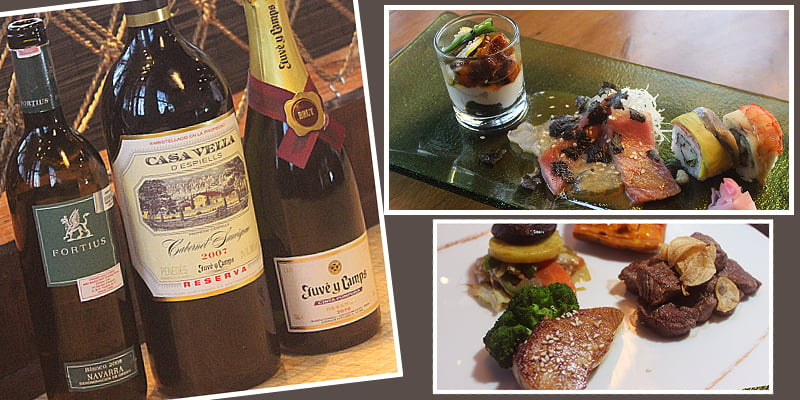 Di Grand Melia Jakarta, Makanan Jepang berpadu dengan anggur Spanyol