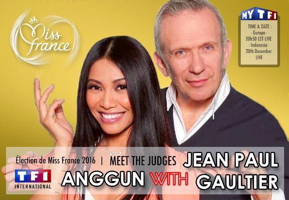 Anggun Jadi Juri Miss France 2015