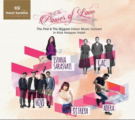 Hotel Santika Premiere Bekasi Akan Gelar Konser Musik