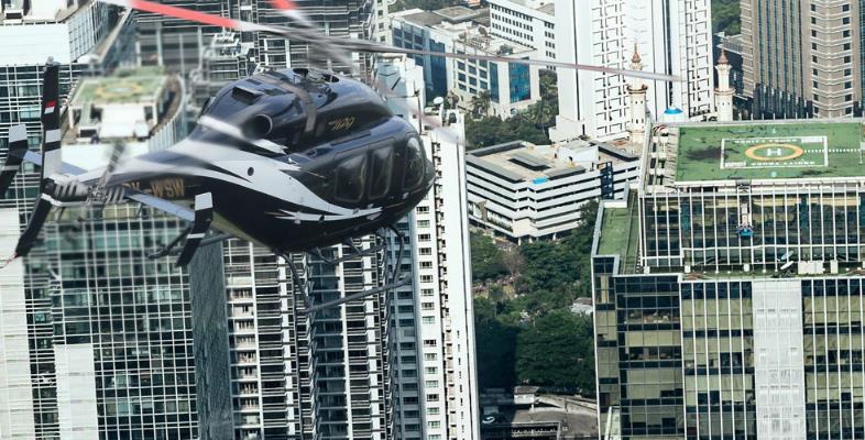 Whitesky Aviation Sediakan Helikopter Sebagai Moda Transportasi Udara