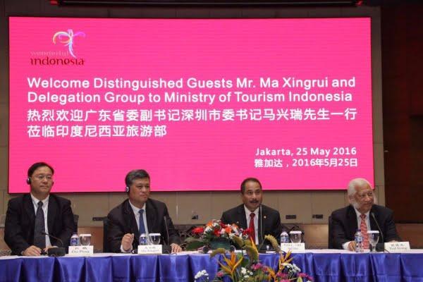 Kemenpar Tawarkan Investasi Pariwisata ke Pengusaha Tiongkok