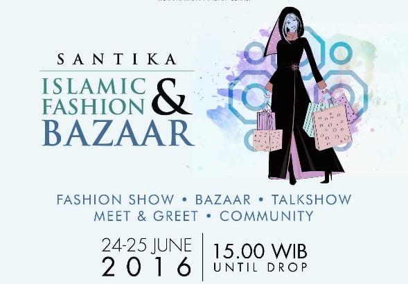Santika Islamic Fashion and Bazaar 2016
