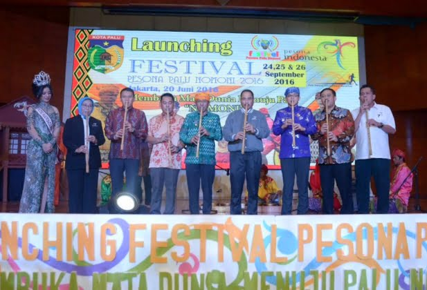 Kota Palu Luncurkan Festival Pesona Palu Nomoni