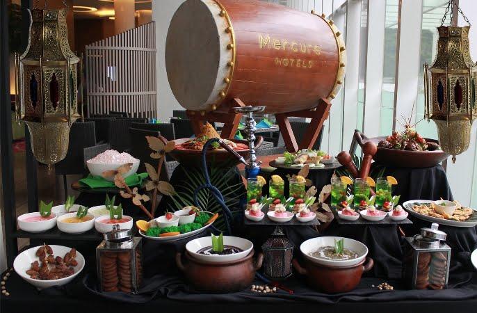 Iftar Dengan Menu Mediteranian di Hotel Mercure Serpong