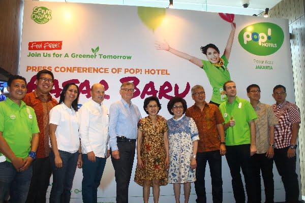 Hotel POP Hadir dengan Konsep Baru