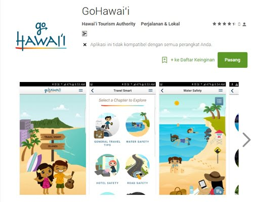Aplikasi GoHawai'i Sajikan Tips Liburan Nyaman ke Pulau Hawai'i