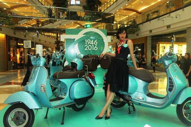 Piaggio Indonesia 70 tahun, Luncurkan Moto Guzzi Seri V9 dan Vespa Settantesim