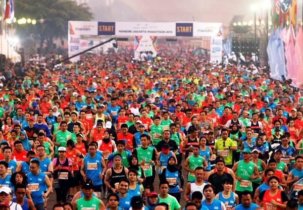 Ini Rute Jakarta Marathon 2016