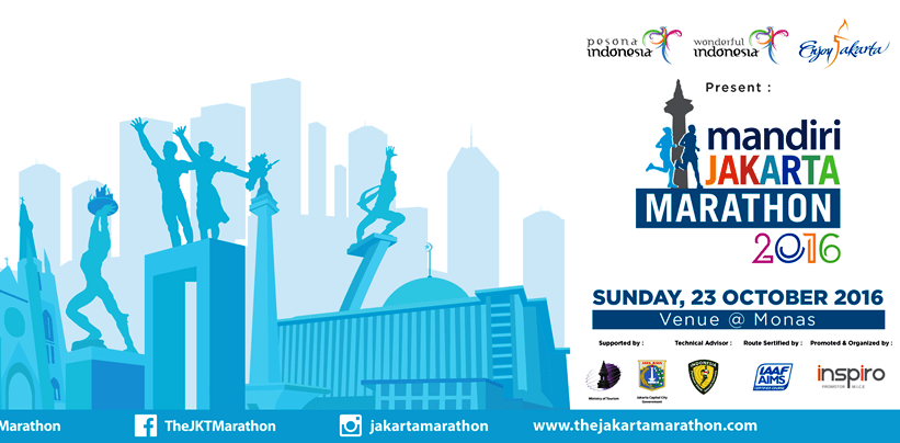 Jakarta Marathon 2016 Siap Digelar