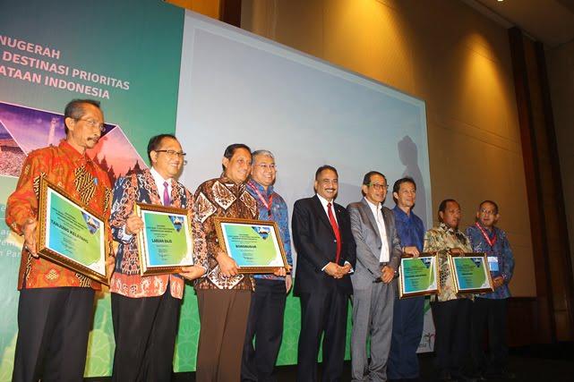 Bodobudur, Wakatobi dan Tanjung Kelayang Destinasi dengan Daya Saing Tertinggi