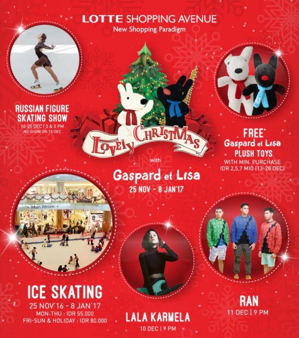 Pesta Belanja dan Bermain Ice Skeating di Lotte Shoping Avenue