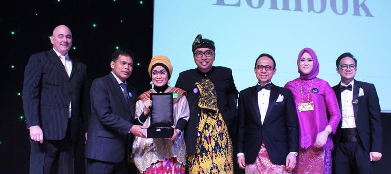 Indonesia Menangkan 12 Penghargaan Wisata Halal Dunia