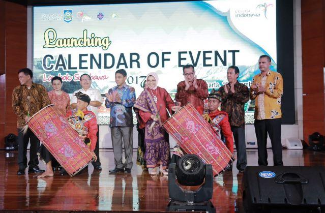 Nusa Tenggara Barat Luncurkan Calendar of Event 2017