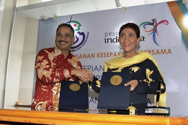 Kemenpar Jalin Kerjasama dengan KKP Kembangkan Wisata Bahari