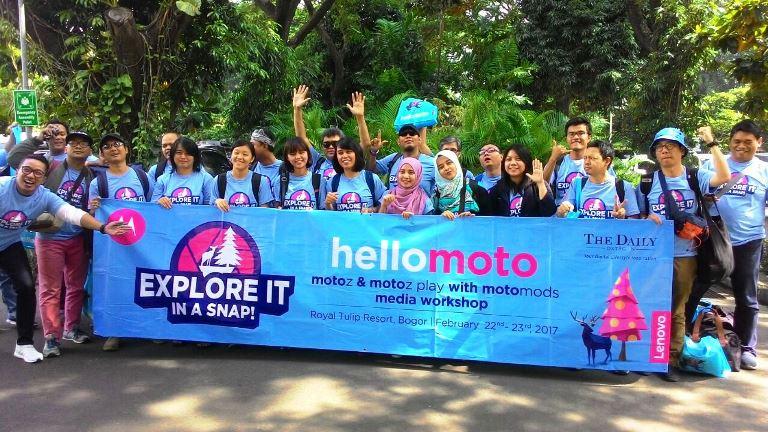 HelloMoto Ajak Awak Media Jelajah Kebun Raya Bogor