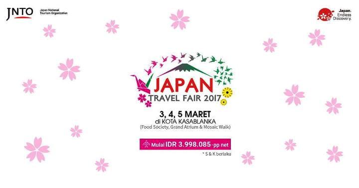 Japan Travel Fair Tawarkan Paket WIsata Menarik