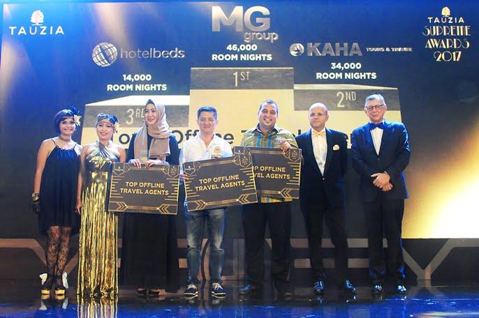 TAUZIA Beri Penghargaan Kepada Klien-Klien Terbaiknya