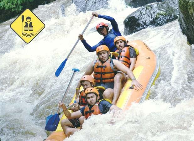 Rafting di Batu, Wisata Seru dan Asyik!