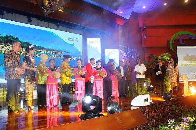 Morotai Luncurkan Calender of events 2017.