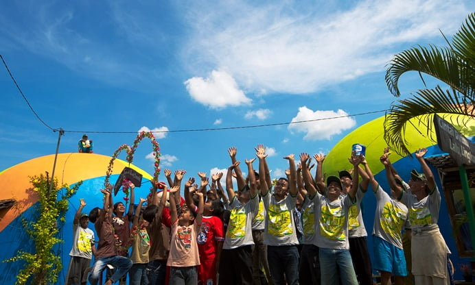 Desa Wisata Rumah Domes Yogyakarta Kini Lebih Berwarna