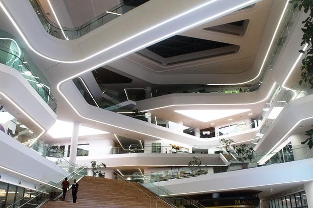 Grha Unilever, Gedung Kantor Berkonsep Eco dan Nyaman Untuk Karyawan