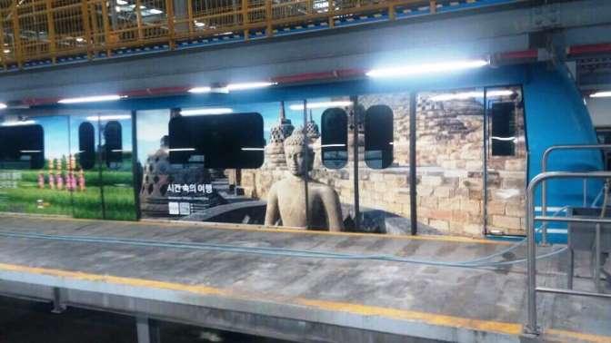 Wonderful Indonesia Menghiasi Subway di Korea Selatan
