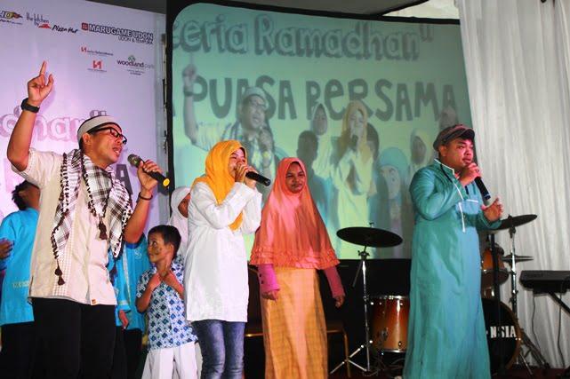 Grup Sriboga Raturaya Bersama Anak Berkebutuhan Khusus di Ramadhan 2017