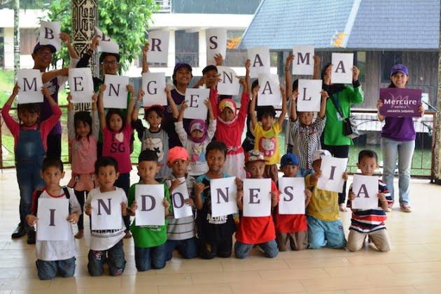Mercure Jakarta Sabang Ajak Anak-Anak ke TMII
