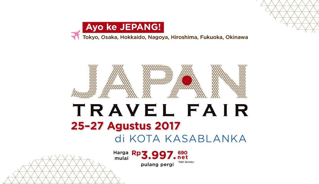 Jepang Gelar Japan Travel Fair di Mal Kota Kasablanka
