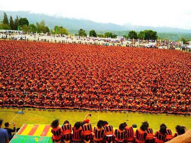 Sebanyak 12.262 Orang Tarikan Tari Saman di Gayo Leus