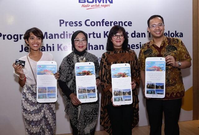 Bank Mandiri dan Traveloka Tawarkan 10 Destinasi Pariwisata Prioritas