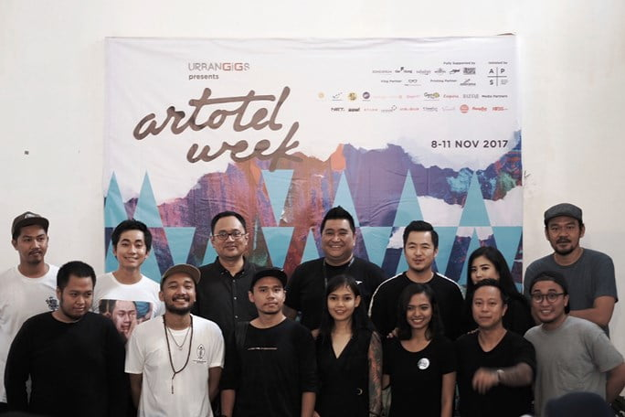 ARTOTEL Group seniman Konsorsium kota tua