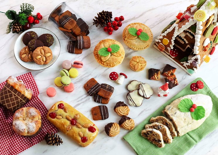 Fairmont Jakarta Festive cookies