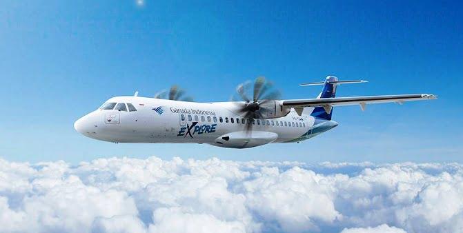 Garuda Indonesia Terbang Ke Wakatobi Dari Kendari