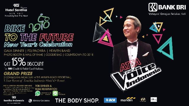"""Bike to the Future 2018"" Persembahan Istimewa Hotel Santika Premiere Bintaro"