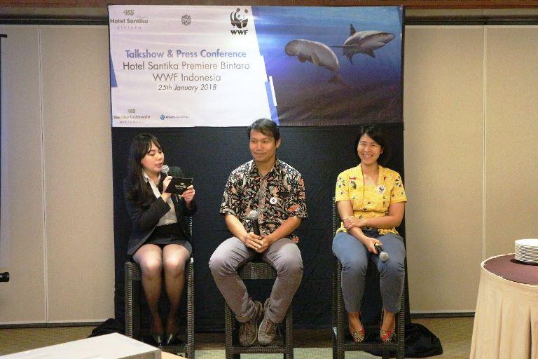 Hotel Santika Premiere Bintaro Dukung Program Konservasi WWF Indonesia