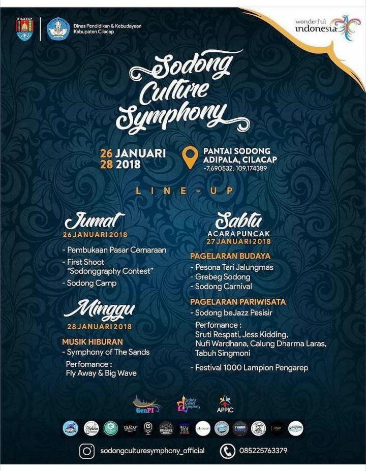 Jelajahi Pesona Cilacap di Sodong Culture Symphony 2018