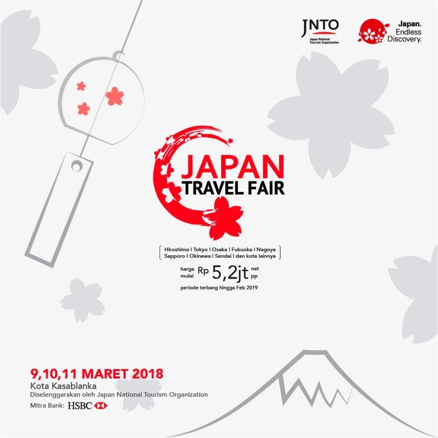 Japan Travel Fair Kembali Hadirkan Berbagai Pilihan Destinasi WIsata di Jepang