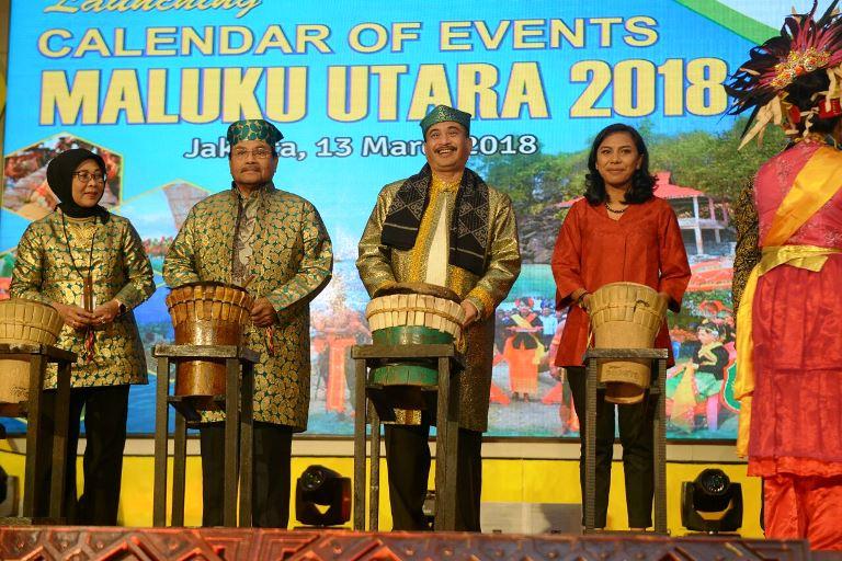Maluku Utara Meluncurkan 33 Kegiatan Pariwisata  Tahun 2018