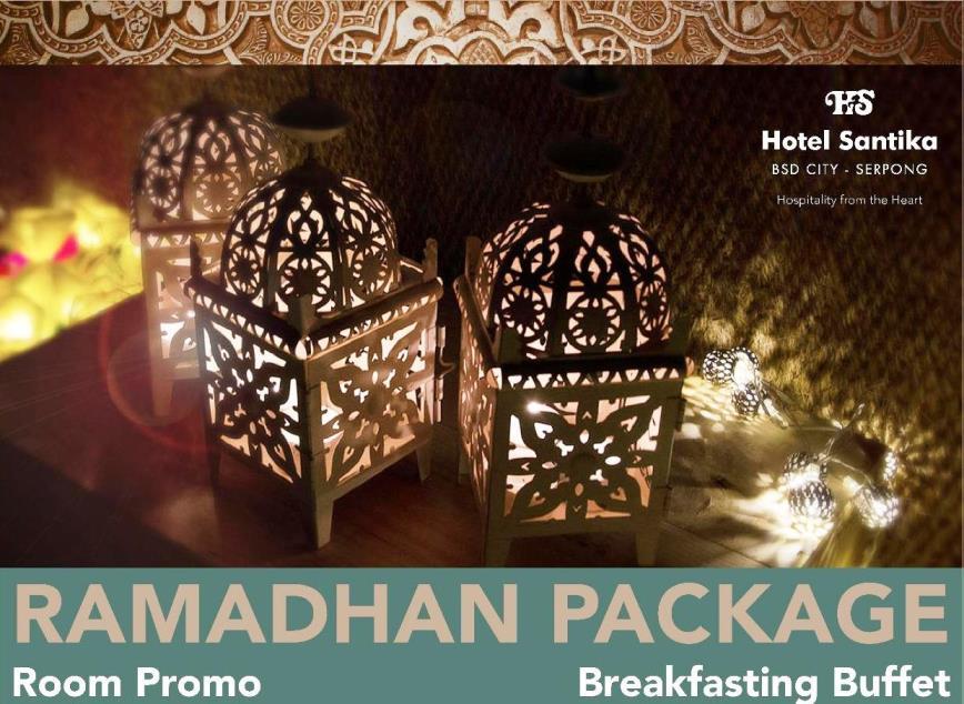 Promo Ramadhan di Hotel Santika BSD Teraskota
