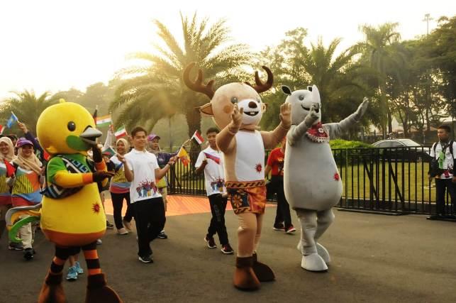 parade asian games