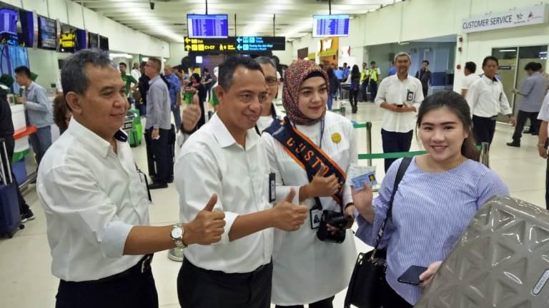 Terminal 1C Sediakan Fasilitas Mobile Check In Untuk Para Pemudik